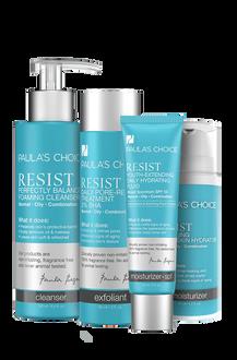 Resist Anti-Aging Set - Fettige Haut