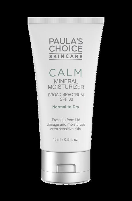 Calm Mineral Moisturizer Broad Spectrum SPF 30 normal to dry skin