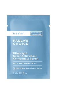 Resist Anti-Aging Ultra-Light Super Antioxidant Concentrate Serum Sample