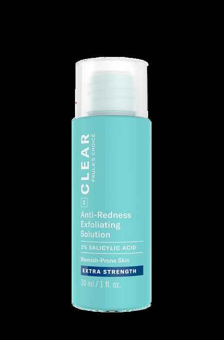 Clear Extra Strength Anti-Redness Exfoliating Solution Salicylic Acid