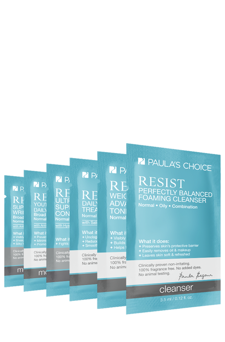 Resist Anti-Aging Combination to Oily Skin Sampleset