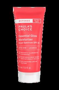 Defense Essential Glow Moisturizer SPF 30 Travel size