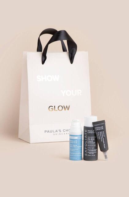 """Geschenkset """"Glow & Go"""" - Fettige & Mischhaut"""