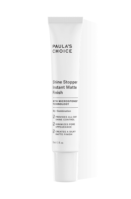 Shine Stopper Instant Matte Finish with Microsponge Technology