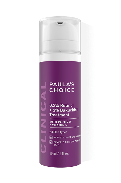 Clinical 0,3% Retinol + 2% Bakuchiol Treatment Full Size