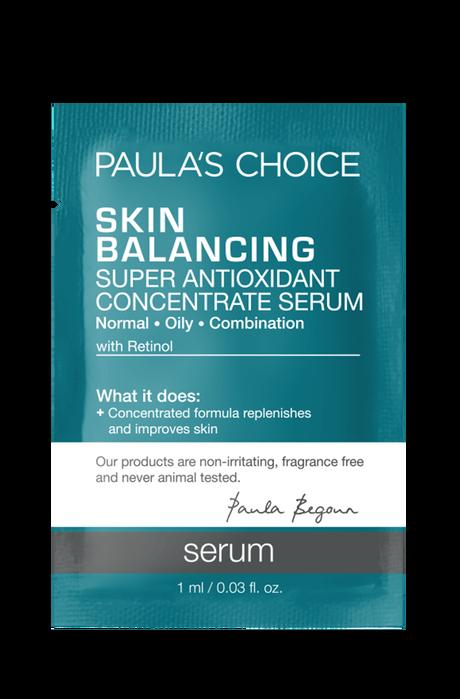 Skin Balancing Super Antioxidant Concentrate Serum Sample