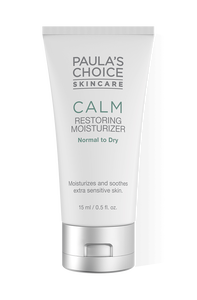 Calm Moisturizer normal to dry skin Travel size